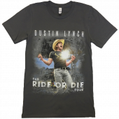 Dustin Lynch Asphalt Ride or Die Tee