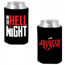 Dustin Lynch Hell of A Night Black Coolie