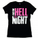Dustin Lynch Ladies Black Hell of A Night Tee