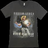 Dustin Lynch Asphalt 2017 Ride or Die Tour Tee