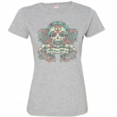 Dustin Lynch Ladies Heather Grey Tee